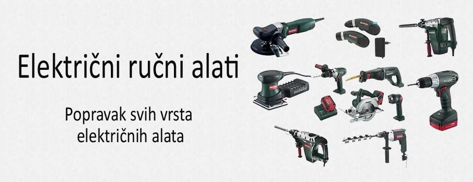Električni ručni alati
