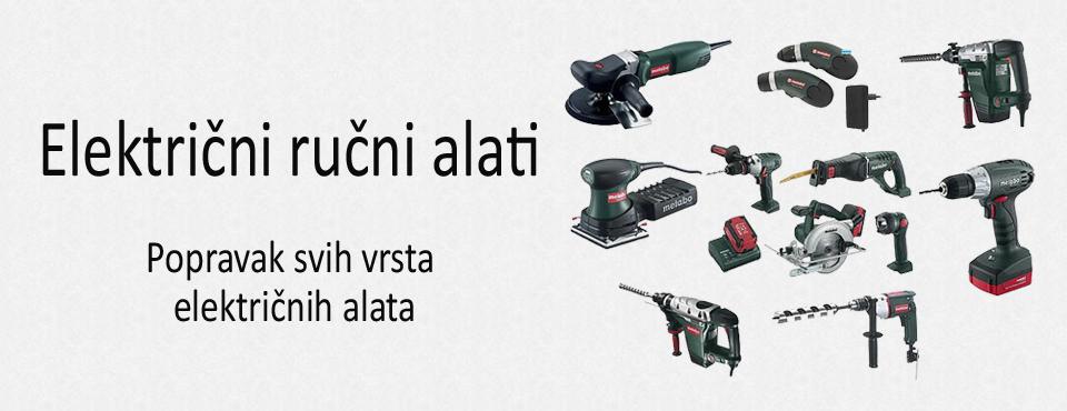 Servis električnih ručnih alata